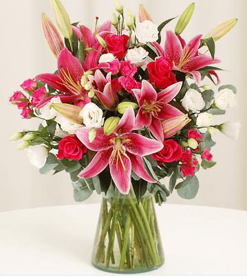 roseandlilyflowerbouquet